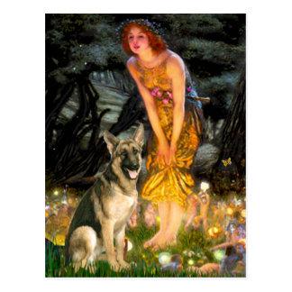 Midsummers Eve - German Shepherd 2 Postcards