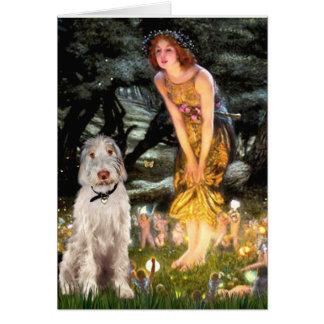 Midsummer's Eve - Italian Spinone #12 Greeting Card