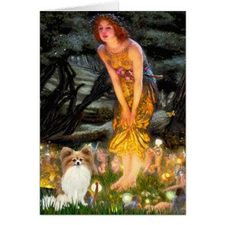 Midsummers Eve - Papillon 4 Greeting Card