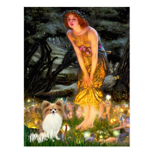 Midsummers Eve - Papillon 4 Postcard