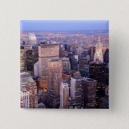 Midtown and Upper East Side 15 Cm Square Badge