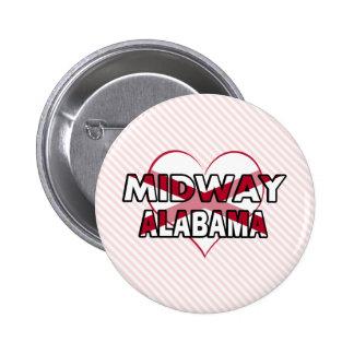 Midway, Alabama Button