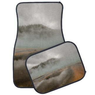 Midway Geyser Basin in Yellowstone National Park Car Mat