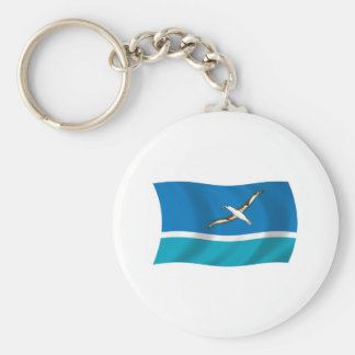 Midway Island Flag Keychain