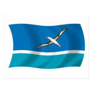 Midway Island Flag Postcard