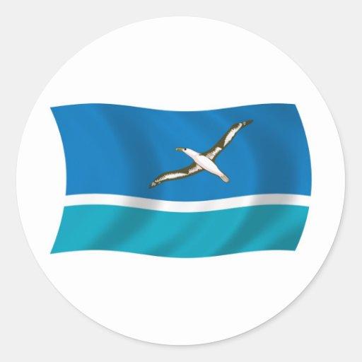 Midway Island Flag Sticker