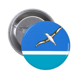 MIDWAY ISLANDS 6 CM ROUND BADGE
