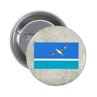 Midway Islands Flag 6 Cm Round Badge