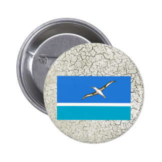 Midway Islands Flag 6 Cm Round Badge