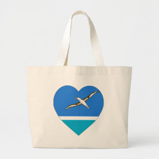 Midway Islands Flag Heart Bags