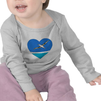 Midway Islands Flag Heart Tees