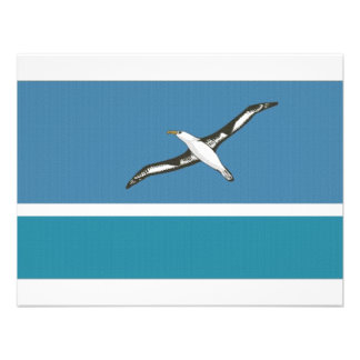 Midway Islands Local Flag Personalized Invitation