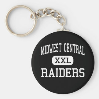 Midwest Central - Raiders - High - Manito Illinois Keychains