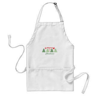 Midwest Christmas Standard Apron