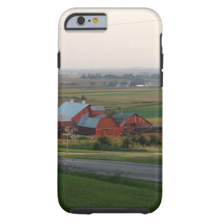 Midwest Farming Photo of Red Barn Tough iPhone 6 Case