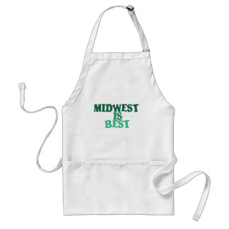 Midwest is Best Standard Apron