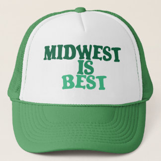 Midwest is Best Trucker Hat
