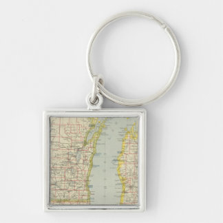 Midwest United States Keychains