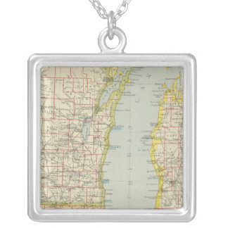 Midwest United States Silver Plated Necklace