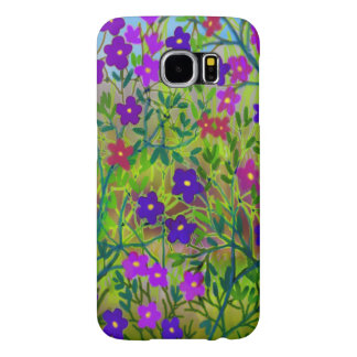 Midwestern Wildflowers Samsung Galaxy S6 Case