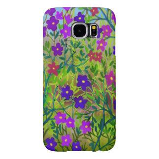 Midwestern Wildflowers Samsung Galaxy S6 Case Samsung Galaxy S6 Cases
