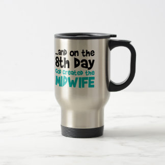 Midwife Creation Travel Mug