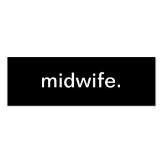 Midwife Nurse Business Card