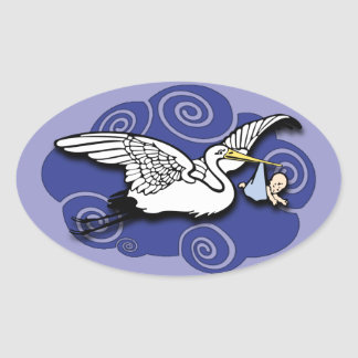 Midwife Oval Sticker