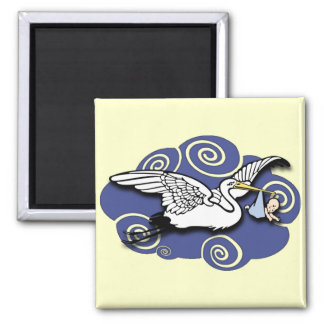 Midwife Square Magnet