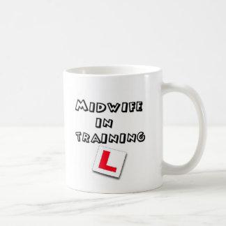 midwife training basic white mug