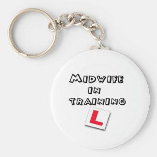 midwife training keychain