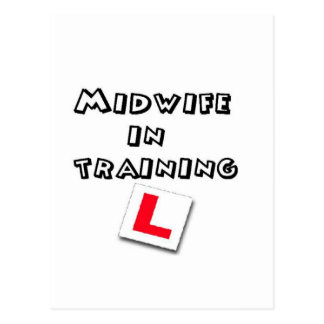 midwife training postcard