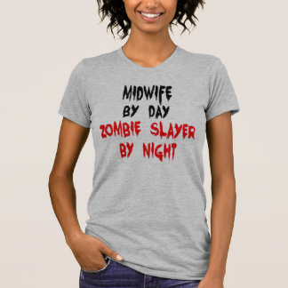 Midwife Zombie Joke T-Shirt
