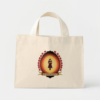 Midwifery Mandorla Mini Tote Bag