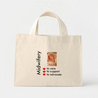 Midwifery Mini Tote Bag