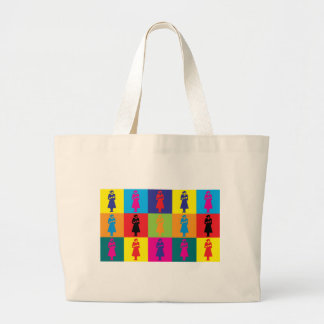 Midwifery Pop Art Jumbo Tote Bag