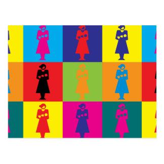 Midwifery Pop Art Postcard