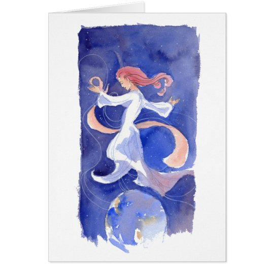 Midwinter Dancer Solstice Card