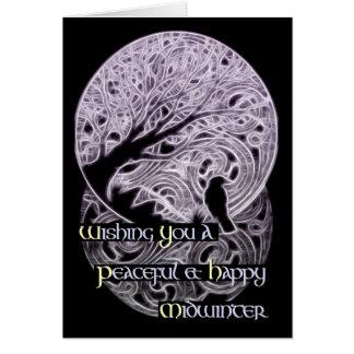 Midwinter Greetings Card