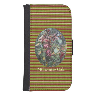 Midwinter Oak & Maple Botanical Natural Galaxy S4 Wallet
