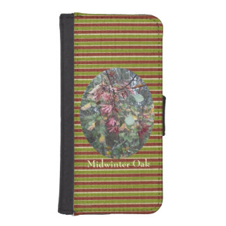 Midwinter Oak & Maple Botanical Natural iPhone 5 Wallet Cases