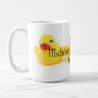 Midwives and Yellow Rubber Ducks Basic White Mug