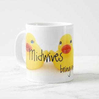 Midwives and Yellow Rubber Ducks Jumbo Mug