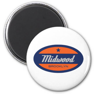Midwood 6 Cm Round Magnet