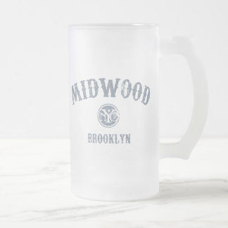 Midwood Frosted Glass Mug
