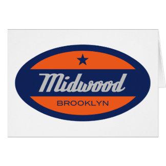 Midwood Greeting Card