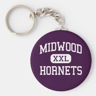 Midwood - Hornets - High - Brooklyn New York Basic Round Button Key Ring