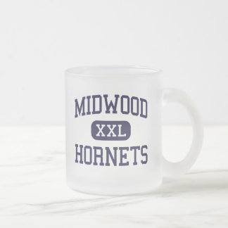 Midwood - Hornets - High - Brooklyn New York Frosted Glass Mug