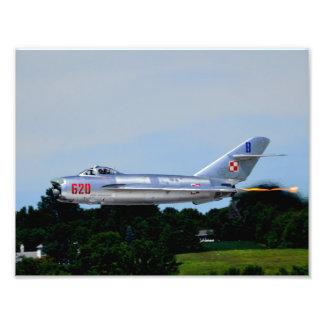 Mig-17 - Series #2 Photographic Print