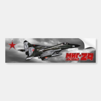 MiG-29 Bumper Sticker